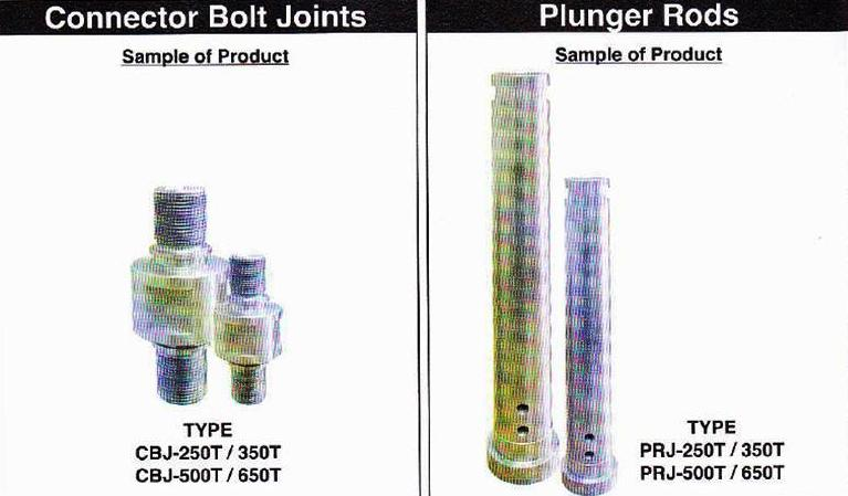 Bolt and Rods – Die Casting Components