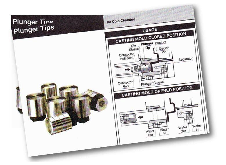 Plunger Tips – Die Casting Components