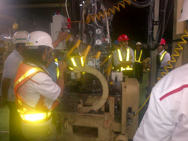 Rotary Table Installation