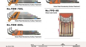 Hex Key, Ball Point Wrench and Precision Screwdriver Set